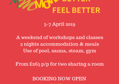 Move Better Feel Better 5-7 April 2019